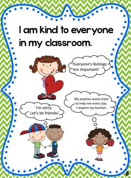 Classroom Rules Social Story: How to be Respectful, Responsible, Safe.