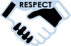 be respectful clipart 70881.