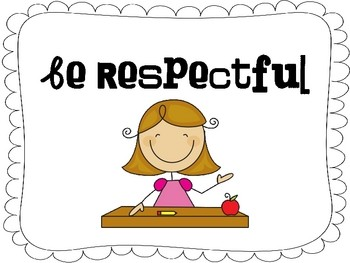 Be Respectful Clipart.