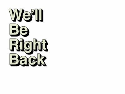 well be right back , Free png download.