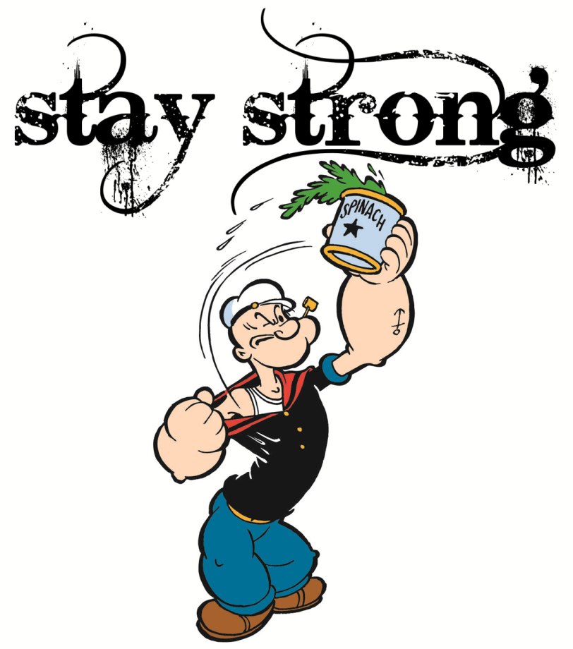 Be Strong Clipart.
