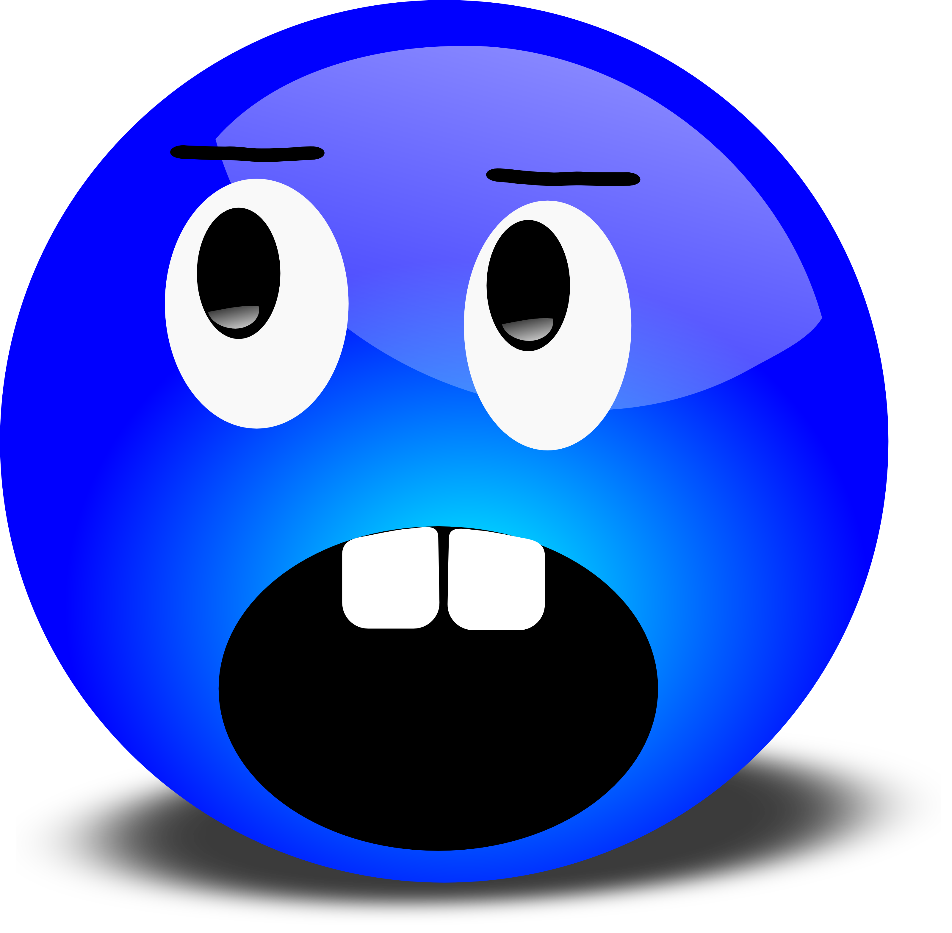Surprised Face Clipart.