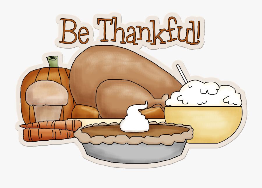 I Am Thankful Clipart.