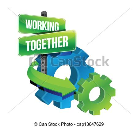 Working together Clipart and Stock Illustrations. 17,735 Working.