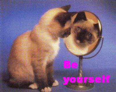 Be yourself clipart.