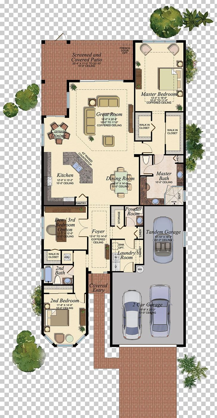 Floor Plan Delray Beach House Plan PNG, Clipart.