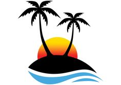 10 Best Palm tree clip art images.