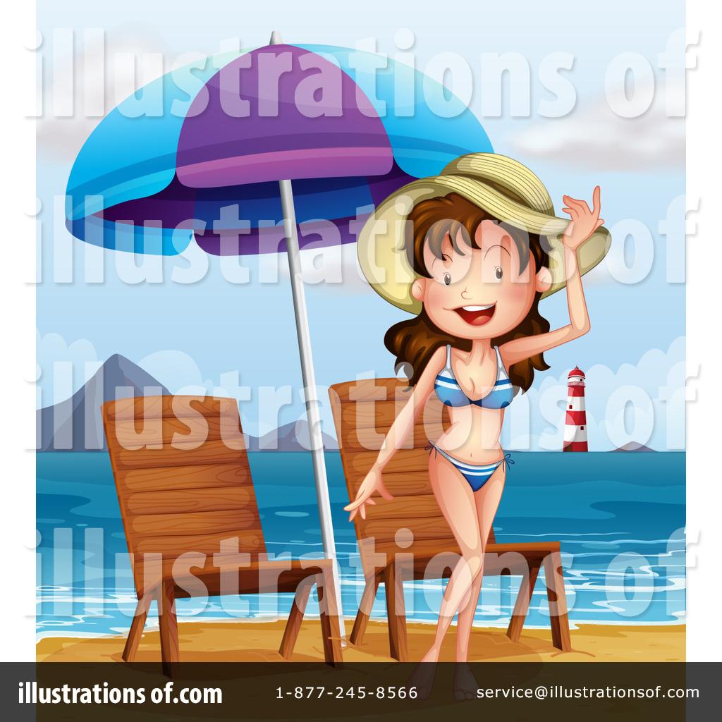 Beach Babe Clipart #1190039.