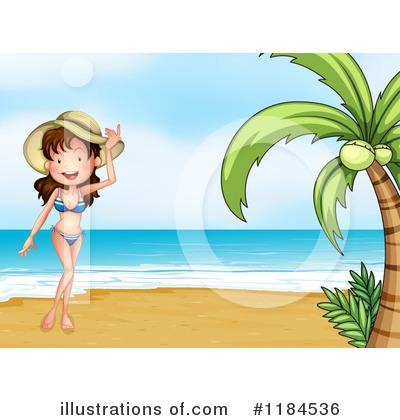 Beach Babe Clipart #1184536.