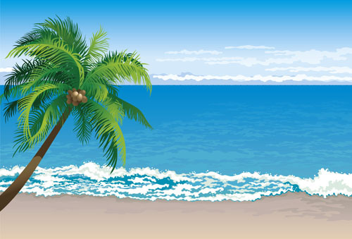 Beach background clipart free vector download (51,718 Free vector.