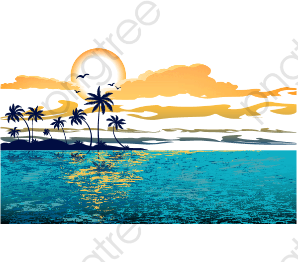 Great Wave Background.