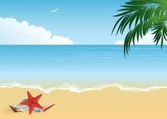 Beach backgrounds clipart » Clipart Station.