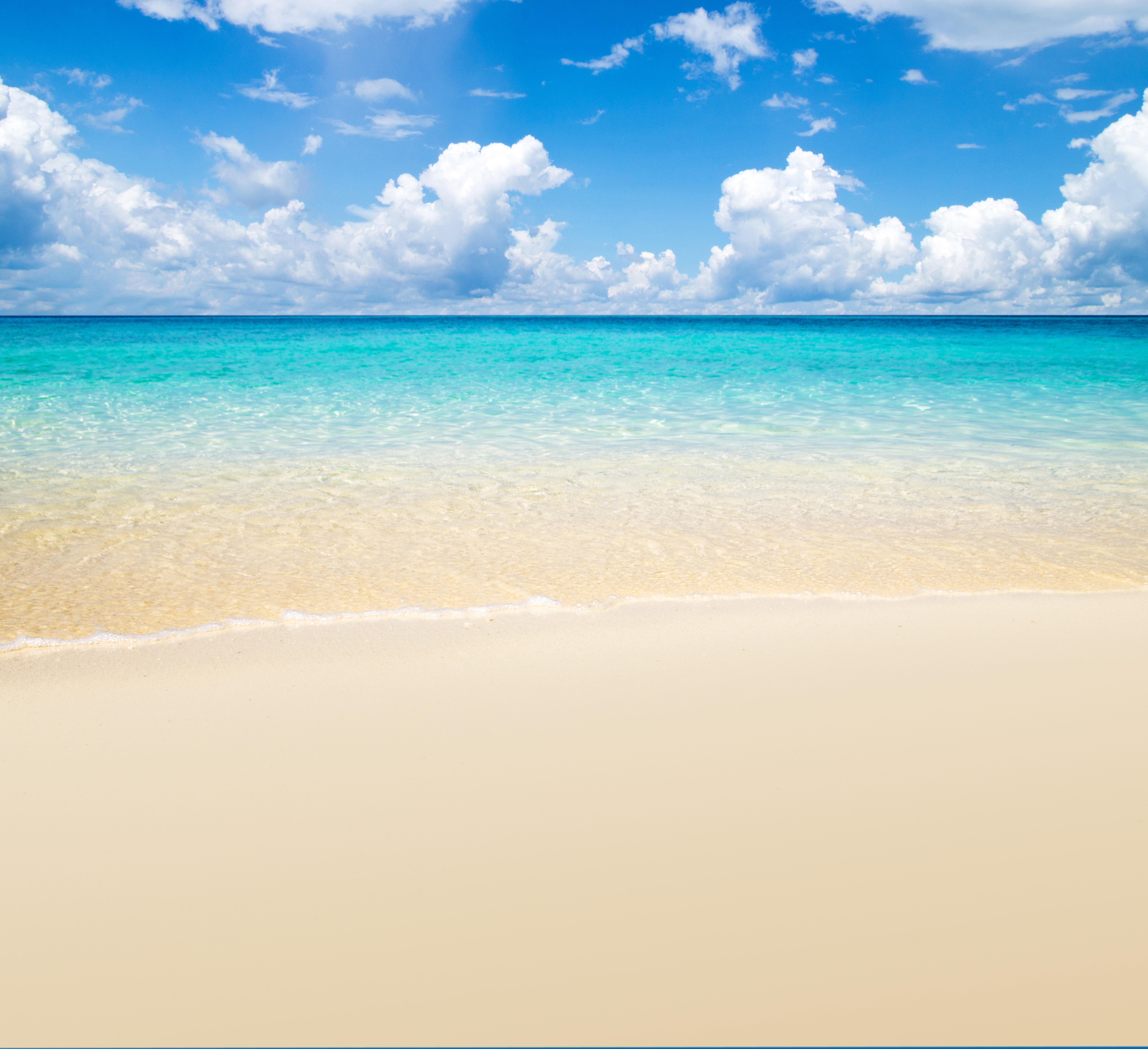 Summer Beach Background.