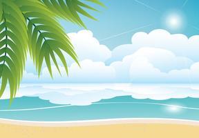 Beach Free Vector Art.