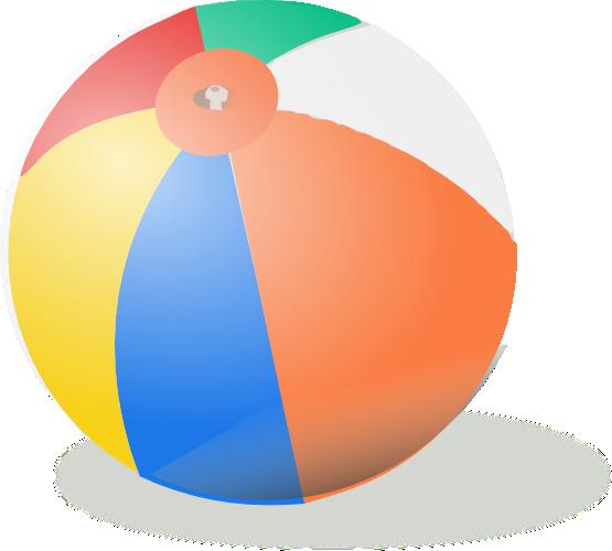 Free to Use & Public Domain Beach Ball Clip Art.