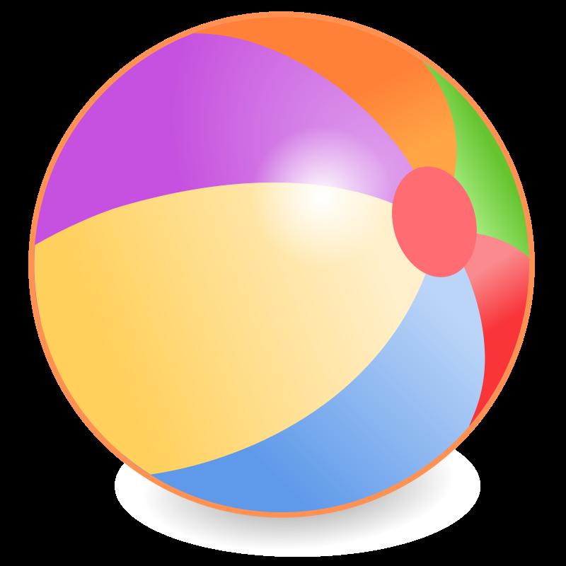 Beachball Clipart.