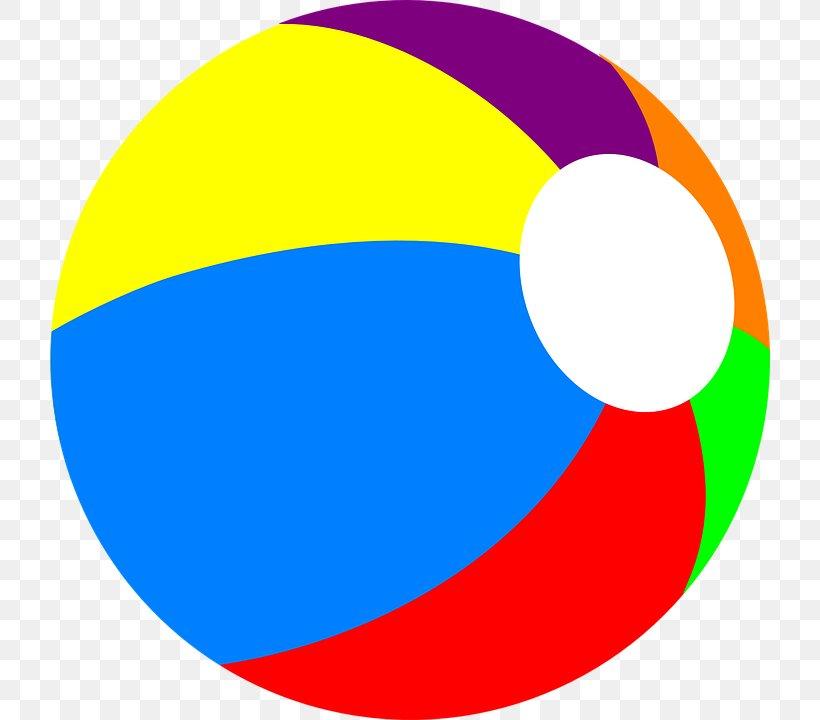 Beach Ball Clip Art, PNG, 720x720px, Beach Ball, Area, Ball.
