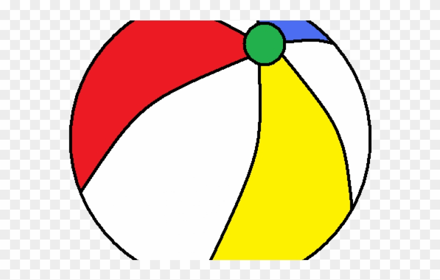 Beach Ball Clipart Ballblack.