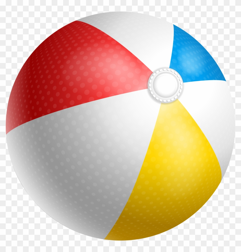 Beach Ball Transparent Clip Art Png Image, Png Download.