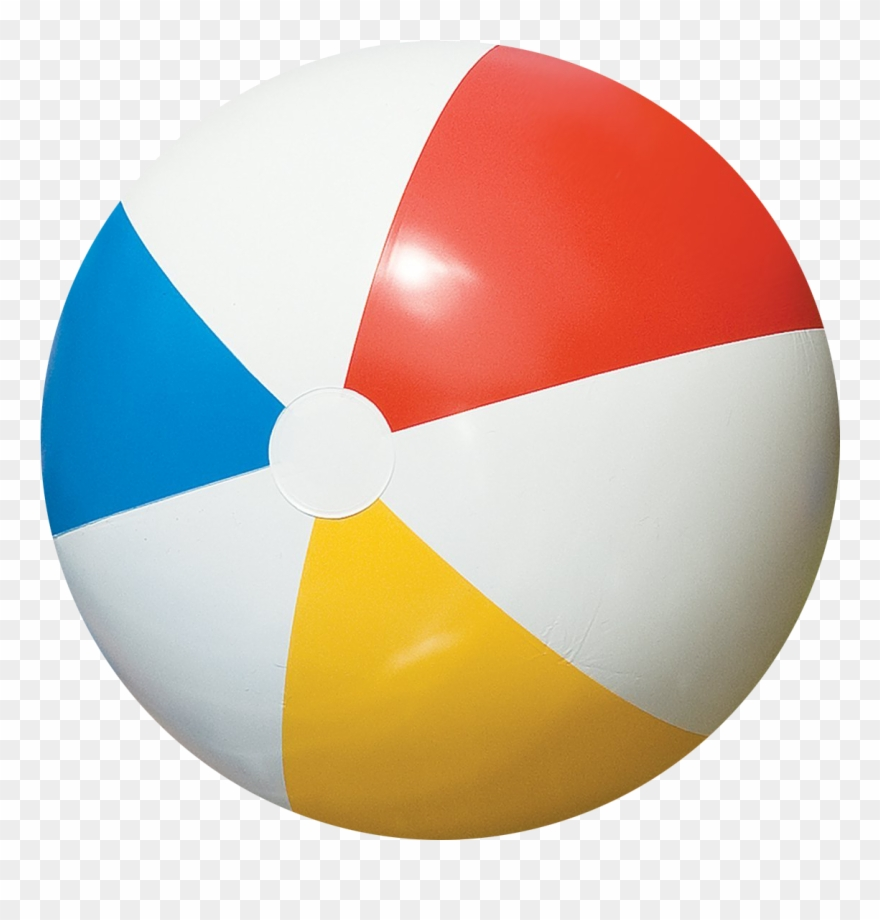 Beach Ball Clipart Pastel.