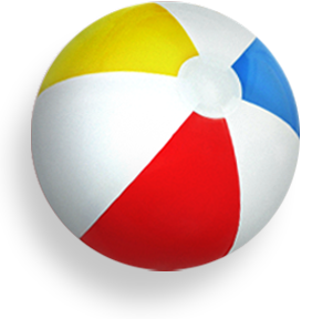 Beach Ball PNG Transparent Images.