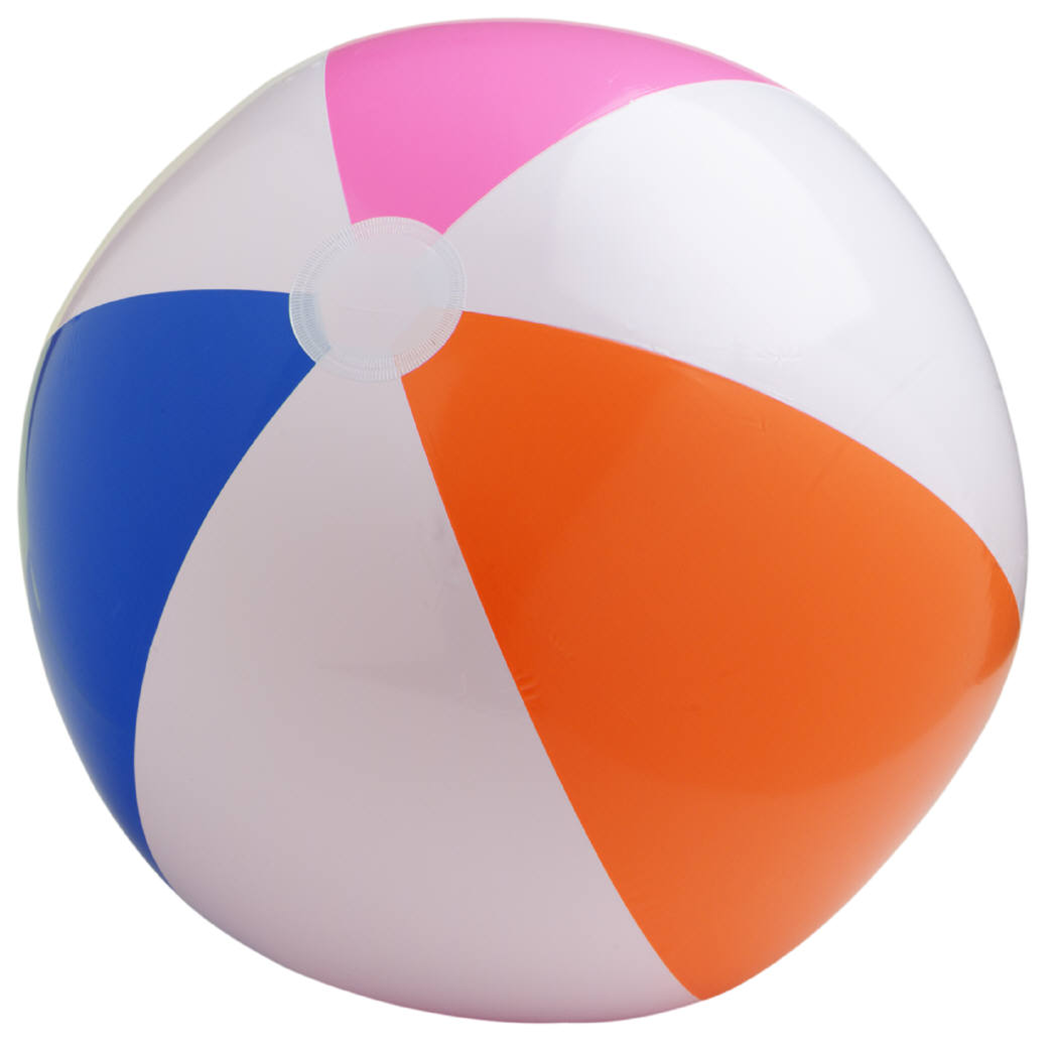 Beach Ball Medium PNG Image 210x208.