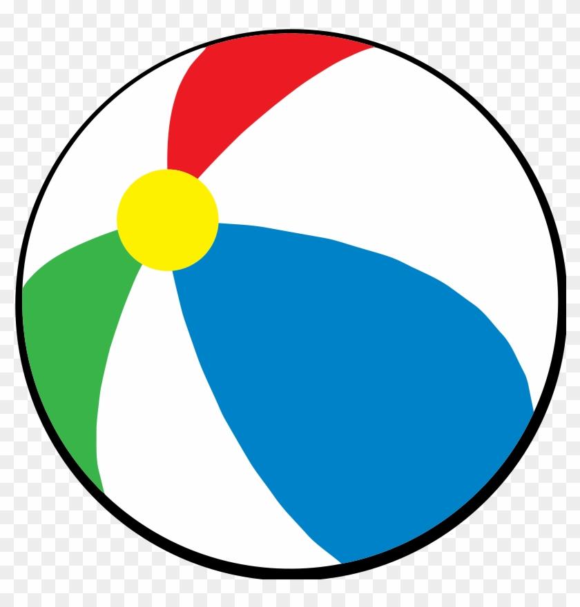Clip Art Beachball Clipart Beach Ball.