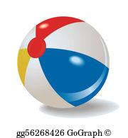 Beach Ball Clip Art.