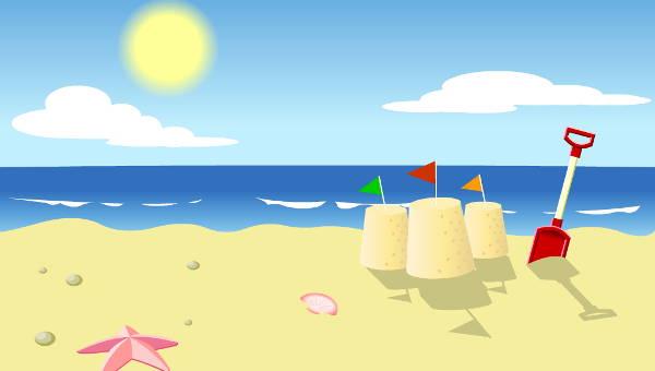 10+ Beach Cliparts.