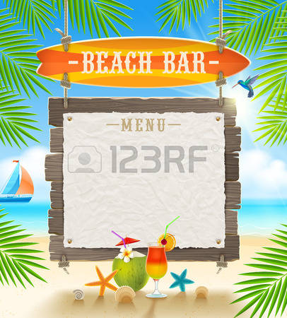 4,213 Beach Bar Stock Illustrations, Cliparts And Royalty Free.