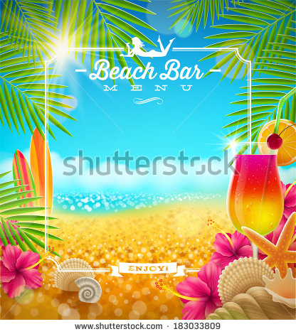 Beach Bar Stock Vectors, Images & Vector Art.