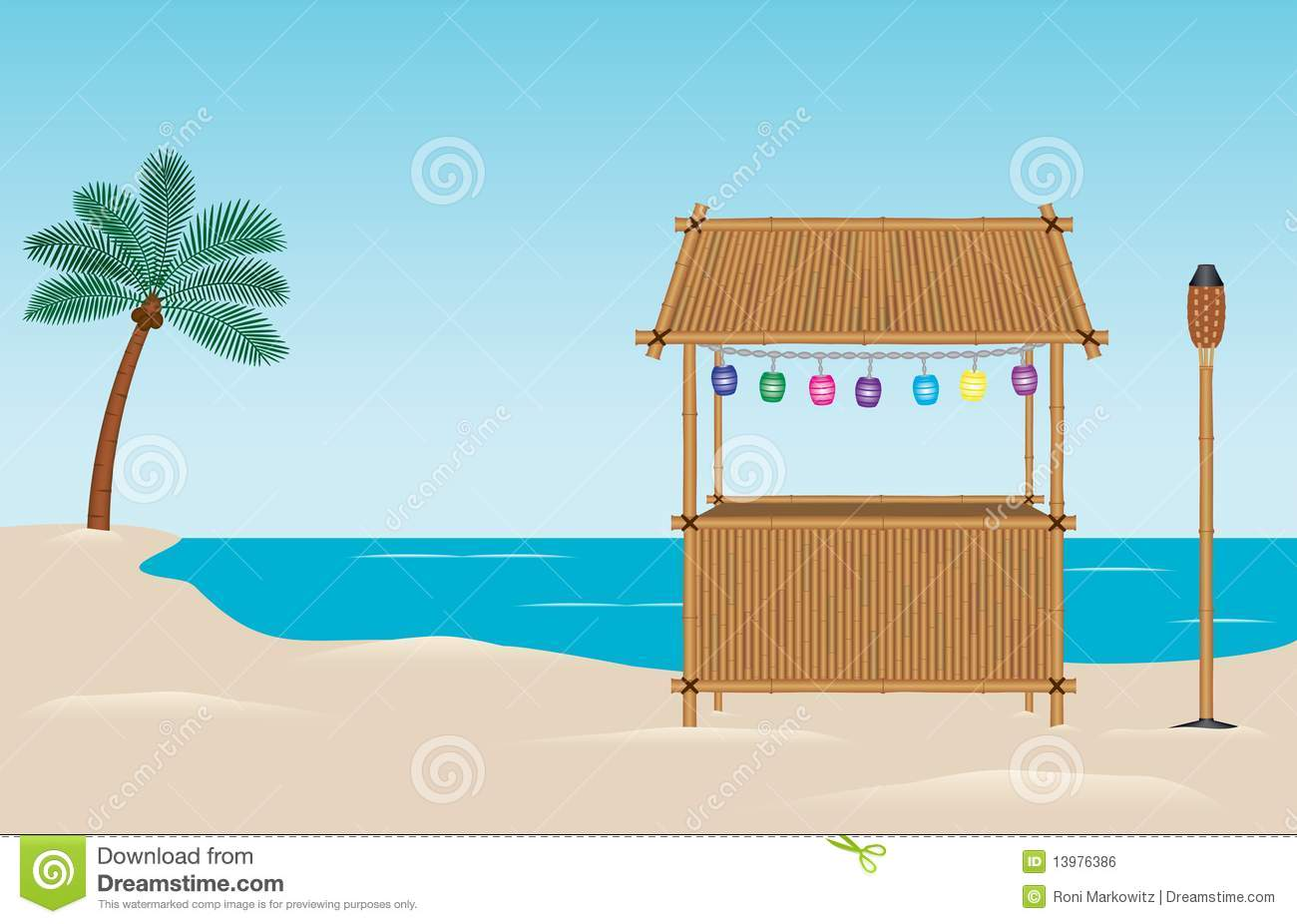 Tropical Beach Bar Stock Photos, Images, & Pictures.