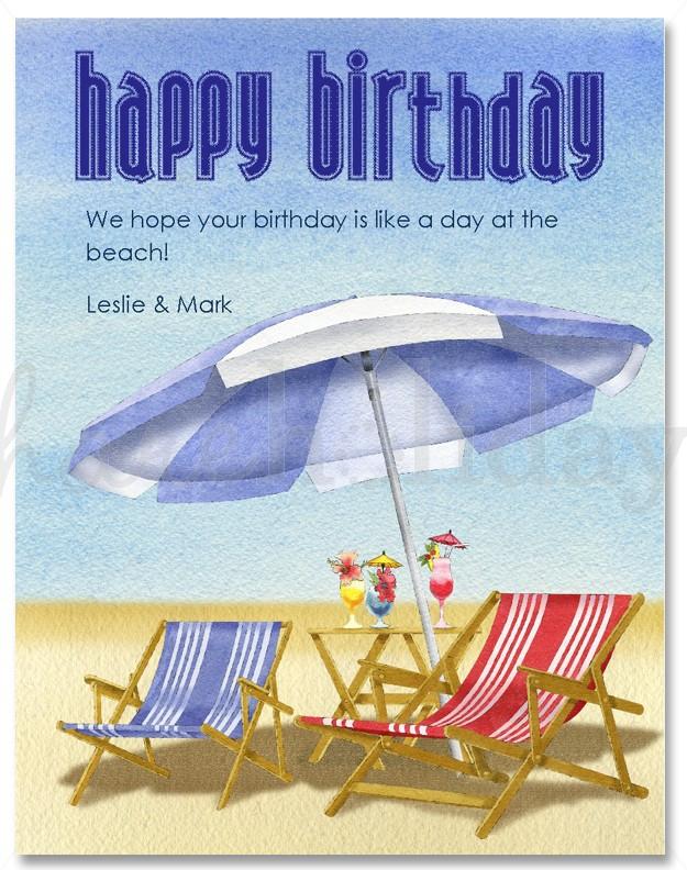 Beach Birthday Clipart#2013470.