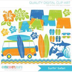 Teen Beach Clipart.