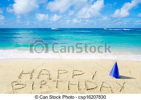 Similiar Beach Happy Birthday Sign Keywords.