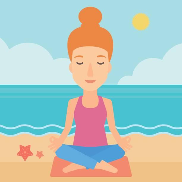 Beach Body Workout Plan Illustrations, Royalty.