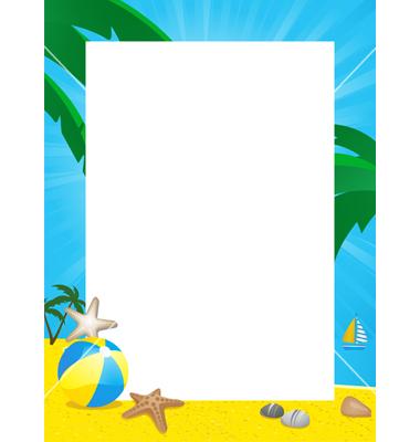 Free Beach Cliparts Borders, Download Free Clip Art, Free Clip Art.