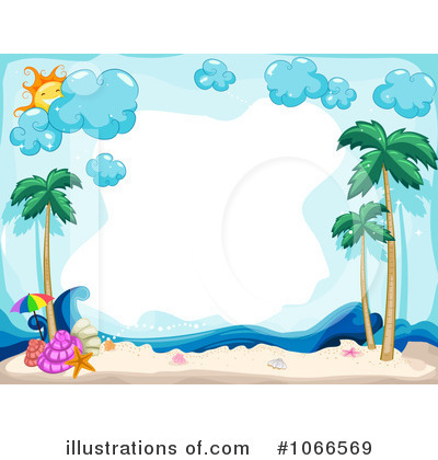 Tropical Beach Clipart #1066588.