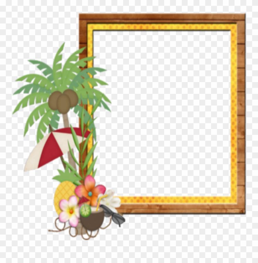 Mq Palm Beach Frame Frames Border Borders Clipart (#2742469.