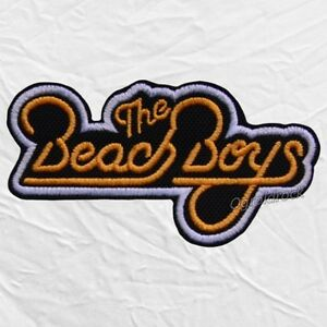 Details about The Beach Boys Logo Embroidered Patch Rock Band Pop Surf  Brian Wilson Mike Love.