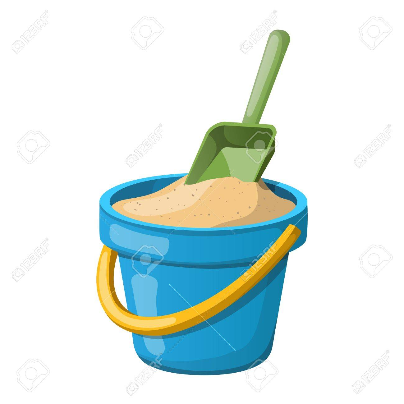 Sand Bucket and shovel..