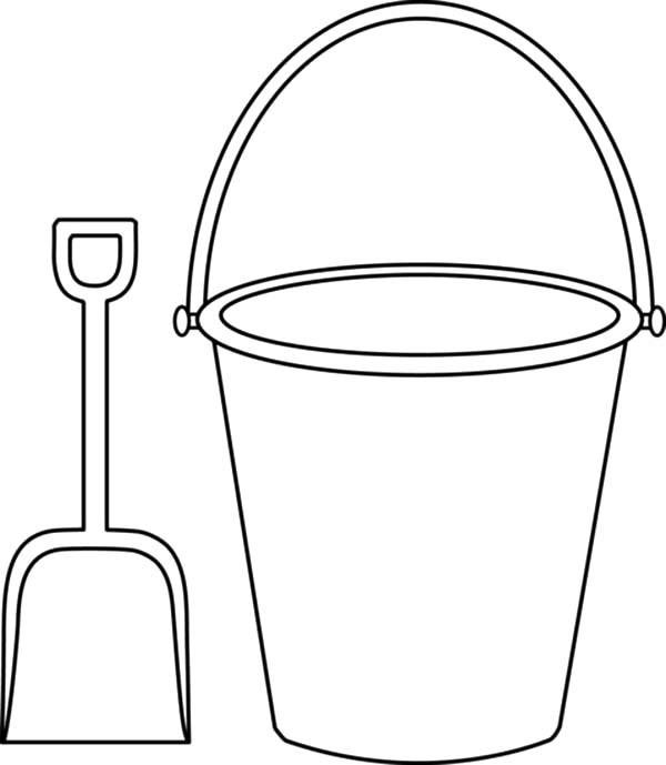 Beach Bucket Clipart 19.