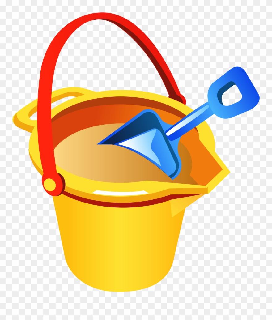 Sand Clipart Beach Bucket.