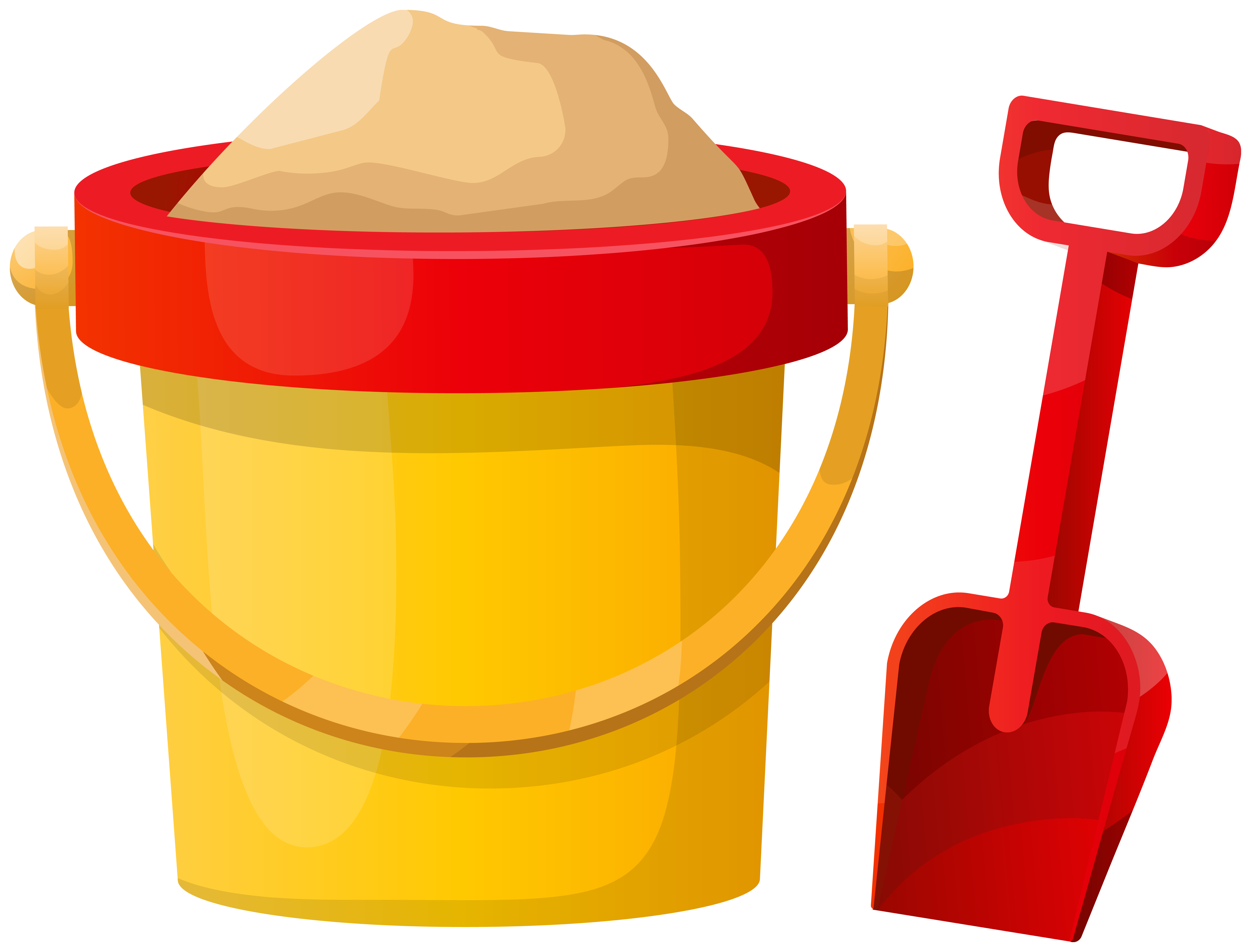 Beach Bucket PNG Clipart.