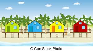 Stilt house Illustrations and Clipart. 46 Stilt house royalty free.
