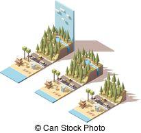 Beach cabin Clip Art Vector and Illustration. 134 Beach cabin.