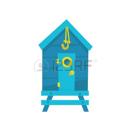 410 Beach Cabin Stock Vector Illustration And Royalty Free Beach.