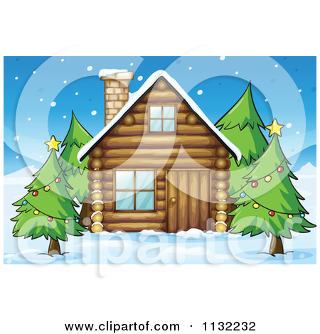 Beach Cabins Clipart