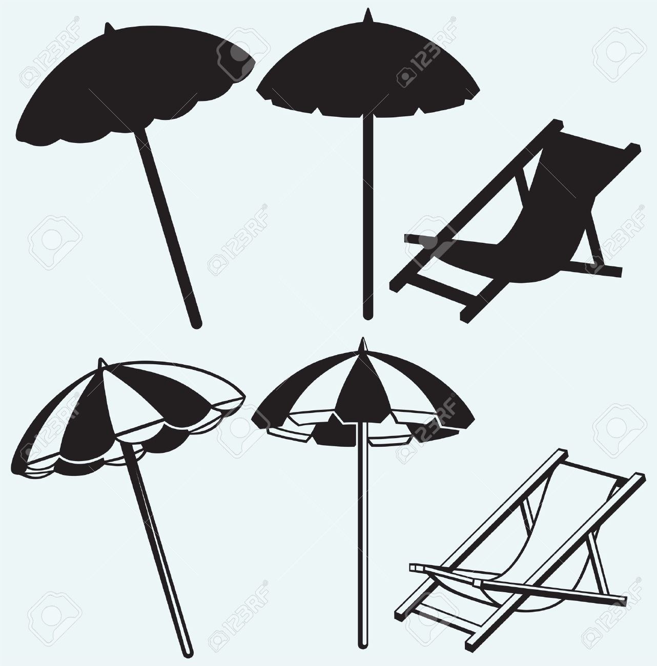 18,932 Beach Umbrella Stock Vector Illustration And Royalty Free.