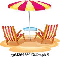 Beach Chair Clip Art.